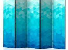 Paraván - Azure pixel II [Room Dividers]